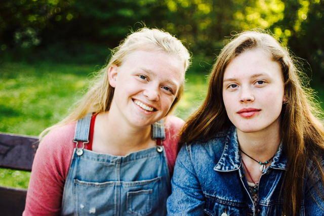 Lotte en Roos