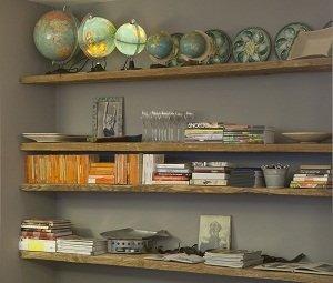 Boekenkast in de Depot Noord Vergaderruimte
