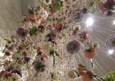 bloemen op TEFAF