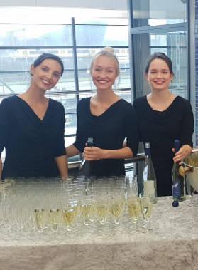 Champagnemeisjes - Oestercompagnie