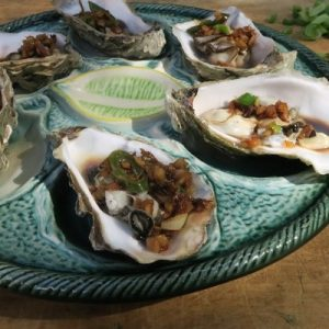 Asian Style Oesters
