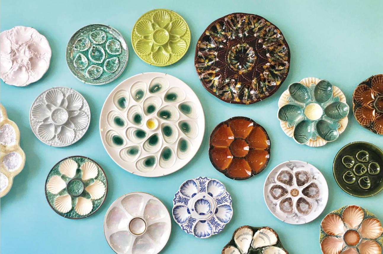 Artistieke oesterborden