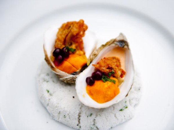 Love bites - gefrituurde oester