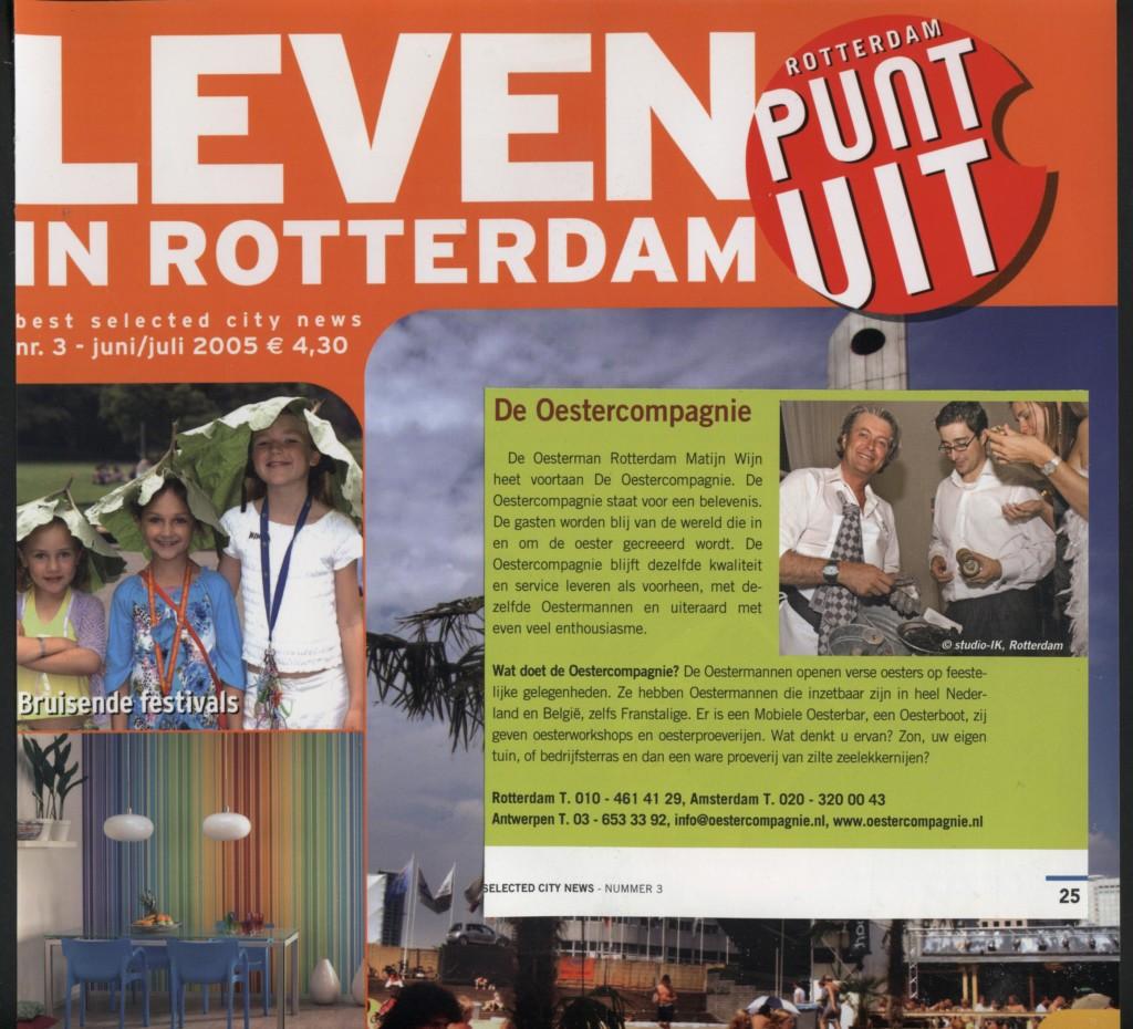 Artikel in Rotterdam Punt Uit