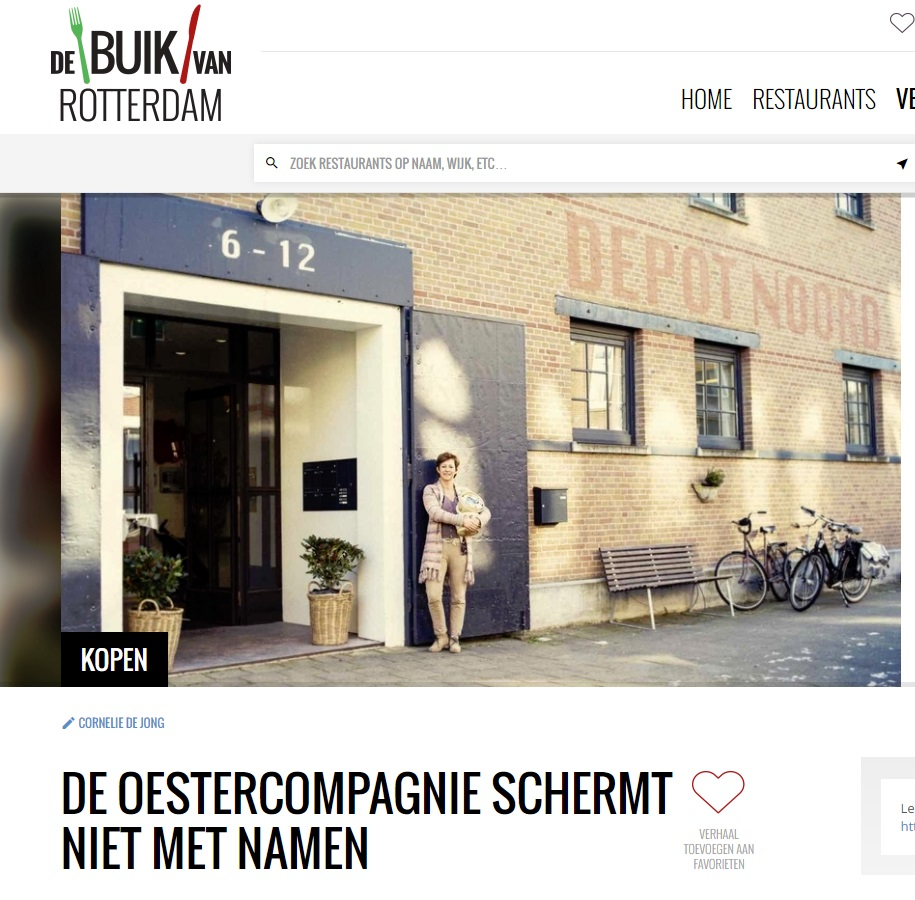 Artikel in De Buik van Rotterdam