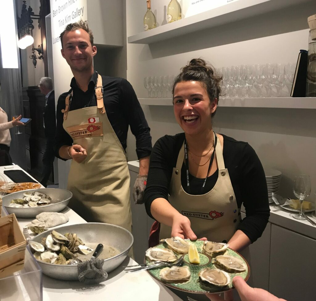 Sidney Boria Red Oyster Oestercompagnie
